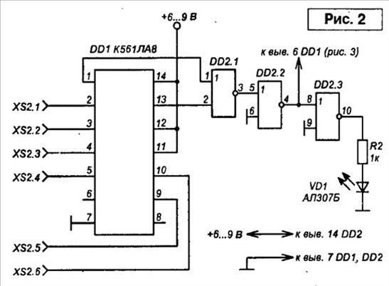 Схема ГНЧ для звукового